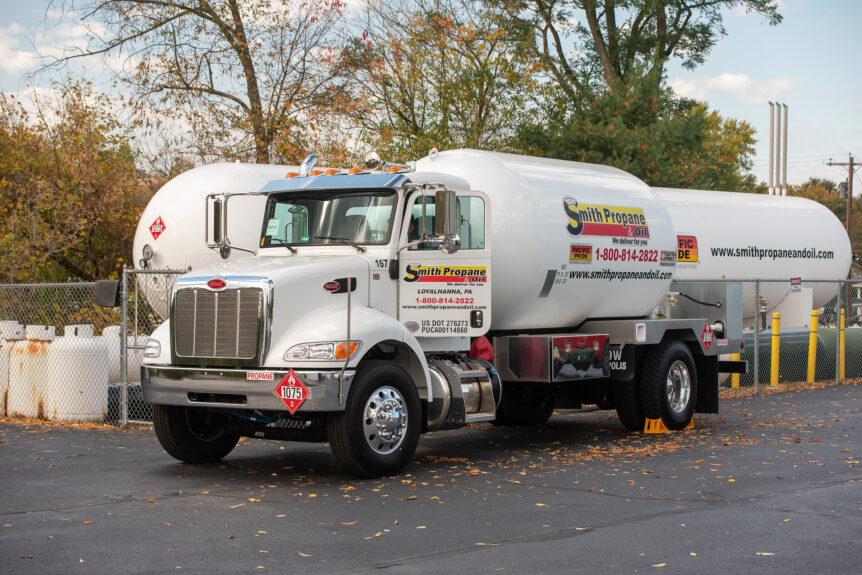 propane truck Pennsylvania